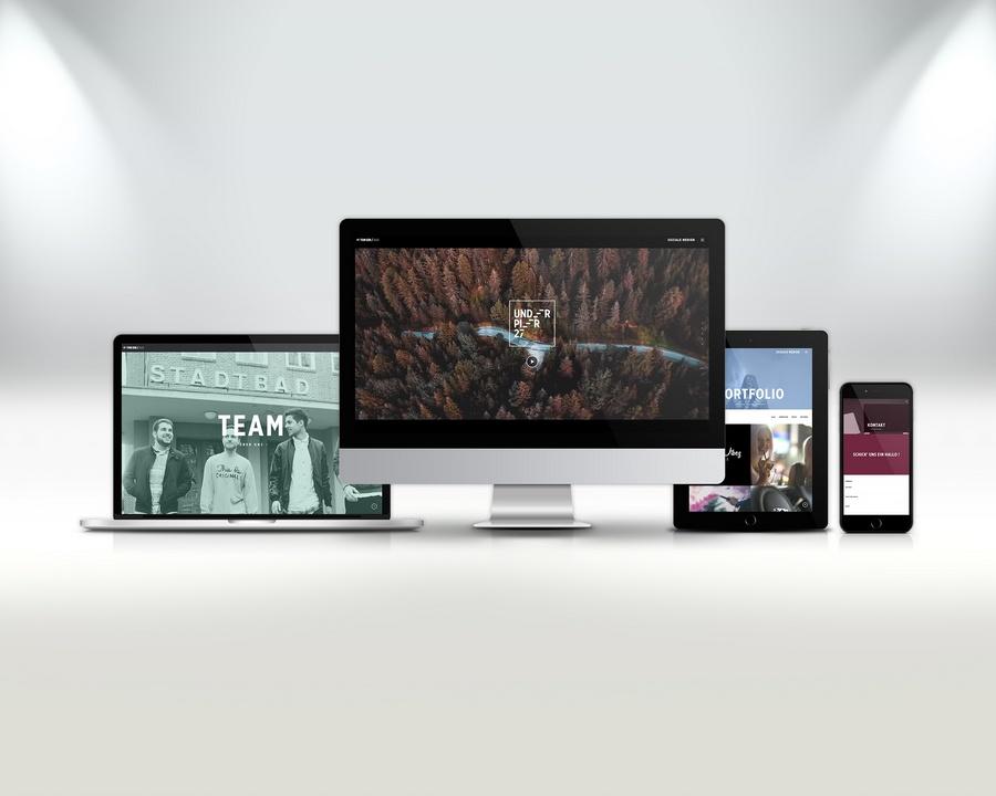 Underpier 27 Webseite - Alle Geräte